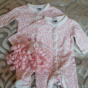 💞Janie and Jack 0-3 Month Footed 1-Piece Set💞